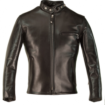 Horsehide Leather Motorcycle Jacket