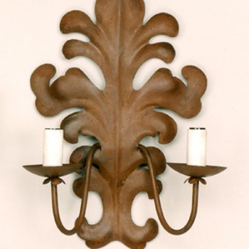 Iris Sconce with 2 Lights