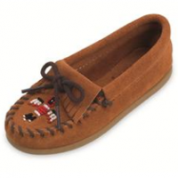 Kid's Beaded Moccasins