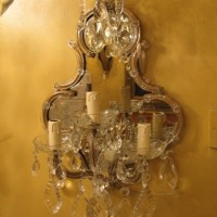 1930s Maria Theresa Wall Sconce