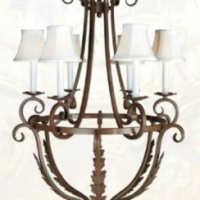 26 inch Chateau Chandelier