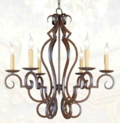 27 inch Wellsfield Manor Chandelier