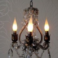 Anna Mini Chandelier, detail