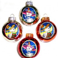 Christmas Catrines Ornaments
