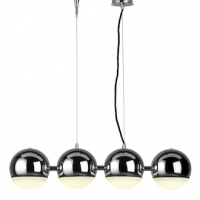 Chrome Top Pendant Light