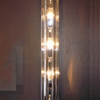 Crystal Bars Wall Sconce