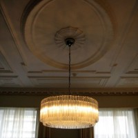 Crystal Drum Chandelier