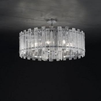 Crystal Rock Chandelier