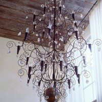 Earth Crystal Chandelier