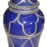 11in Moroccan Ginger Jar