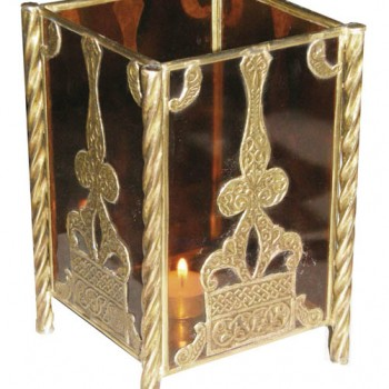 8in Pillar Candle Holder