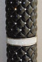 Ceramic Column with Swarovski Crystals