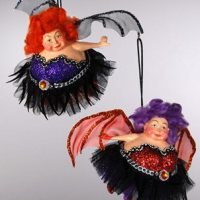 Halloween Fairy Ornaments