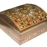 Small Domed Velvet Lined Box