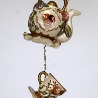 Tea Cup & Teapot Ornament