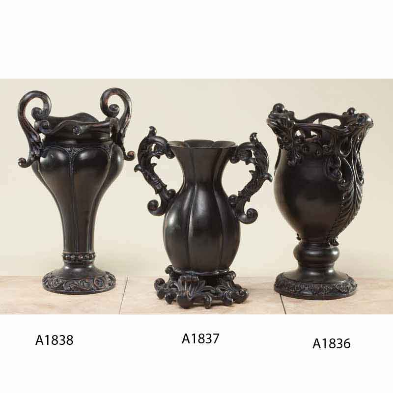 14in Bronze Vases