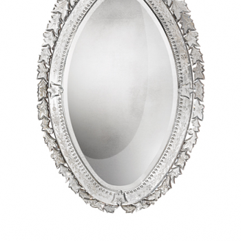 18th Century Style Oval Venetian Mirror