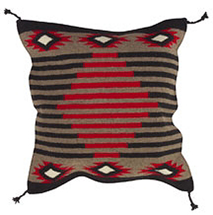 24x24 Wool Tapestry Pillow 871