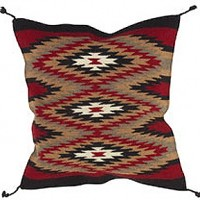 24x24 Wool Tapestry Pillow 884