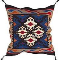 24x24 Wool Tapestry Pillow 886