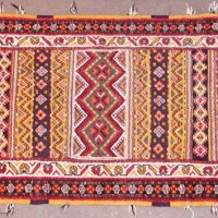 7x3.5ft Moroccan Tribal Rug