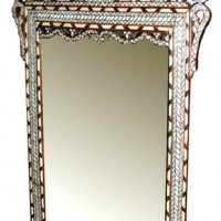 8ft Tall Mother of Pearl Mirror