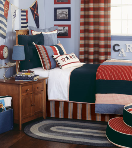 Americana Patchwork Bedding