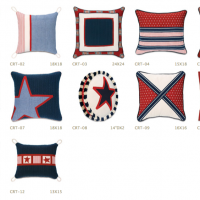Americana Patchwork Pillows