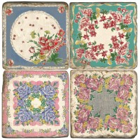 Antique Floral Terracotta Tiles