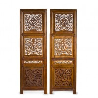 Antique Hand Carved Screens