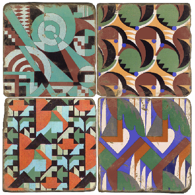 Art Deco Terracotta Tiles