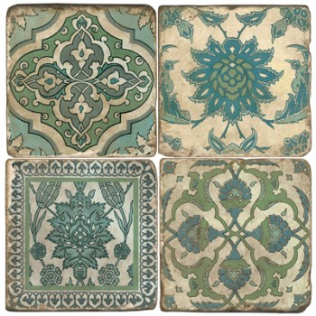 Blue Moroccan Terracotta Tiles