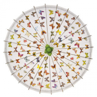 Butterfly Rice Paper Parasol