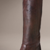Button Top Pull-On Boots