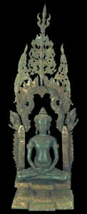 Cambodian Style Buddhas 32in
