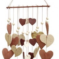 Collective Hearts Ceramic Windchime
