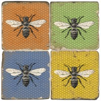 Country Bee Terracotta Tiles