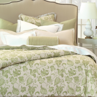 Crisp Jacobean Bedding