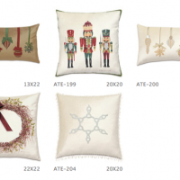 Decorative Silk Holiday Pillows