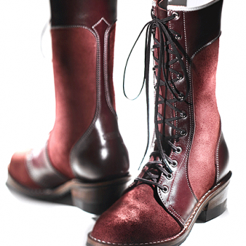 Deep Burgundy Women's Shadows Boots