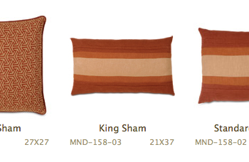 Earthtone Patterned Pillows