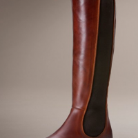 Elastic Sided Riding Boots
