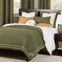 Emerald Ocean Liner Bedding