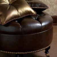 Faux Leather Pillows