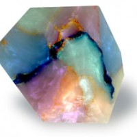 Fire Opal Geranium Rock Soap
