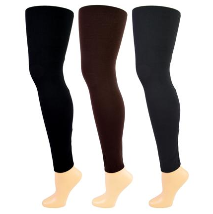 Fleece Lined Footless Leggings