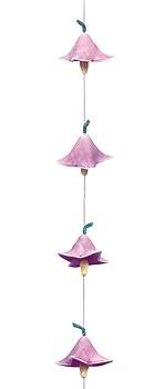 Flower Droplet Ceramic Windchime