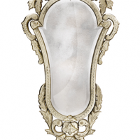 French Engraved Mirror