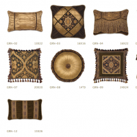 French Mocha Pillows
