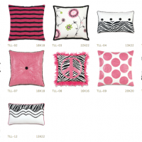 Glamor Girl Pillows